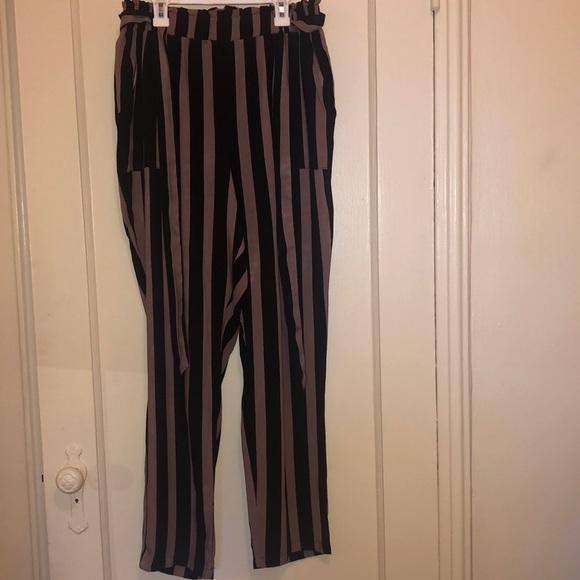 Charlotte Russe Pants - Striped Pants.